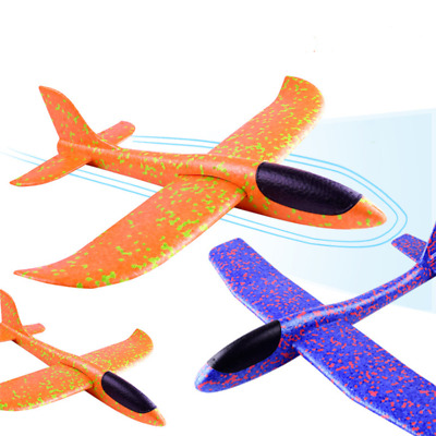 48cm Large EPP Foam Hand Throw Airplane Flying Gliders Launch Plane Kid Toy 2019
