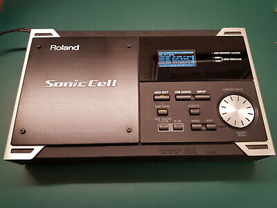 Roland Sonic Cell 128-Voice Synth Audio Interface Soundmodul wenig gebraucht