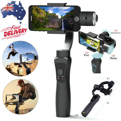 Smooth 4 3-Axis Handheld Mobile Gimbal Stabilizer for iPhone X XR XS Samsung S9