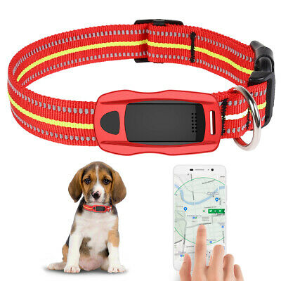 Pet Dog Tracker Collar Security Anti-lost LBS+WIFI+GPS Real Time Tracking Finder
