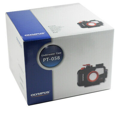 (ES) New Boxed Olympus PT-058 PT058 Underwater Housing for TG-5 Camera