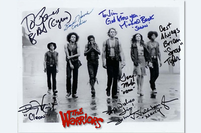 The Warriors (1979) '013' / Walter Hill / Cast Signed Reprint