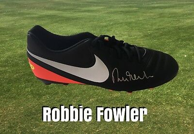 Robbie Fowler Signed Nike Football Boot