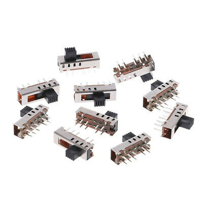 20Pcs SS24E01-G5 Slide Switches Vertical 0.5A 4 Position Toggle Switch 10 Pin