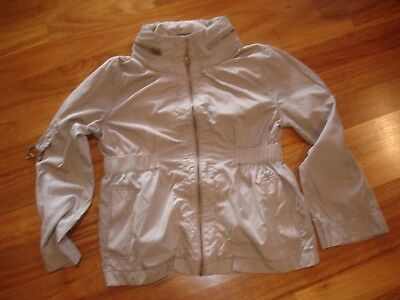 JACQUI-E cotton jacket   Size 12 Spring weight
