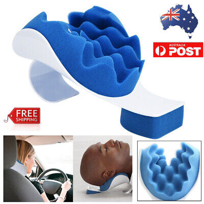 Neck Pillow Theraputic Support Tension Pain Relief Massage Support Relaxer Relax