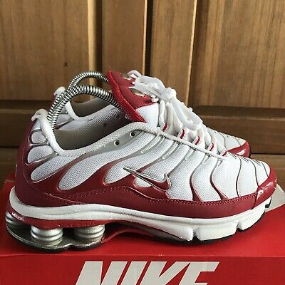 purchase cheap bf4e4 be3bf NIKE AIR MAX Plus Shox Fade Red 6uk 2000 Rare Vintage Good Cond TN  333049-161