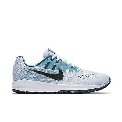 promo code 01a92 45a3d Mens NIKE AIR ZOOM STRUCTURE 20 White Trainers 849576 101