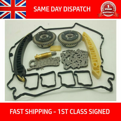 Fits Mercedes Benz M271 1.8 L Petrol Timing Chain Kit Vvt Camshaft Gears Pulley