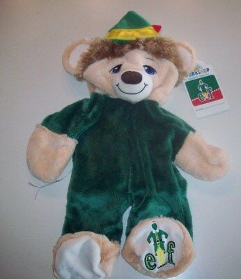 New With Tags Unstuffed Retired Build a Bear ~ Buddy The Elf