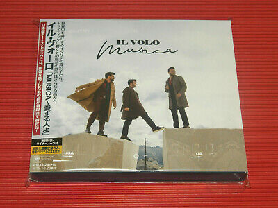 2019 JAPAN CD IL VOLO MUSICA with BONUS TRACK + PHOTO BOOK