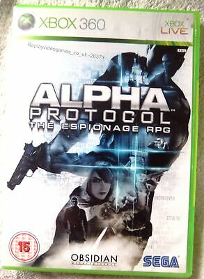 26373 Alpha Protocol The Espionage RPG - Microsoft Xbox 360 (2010)