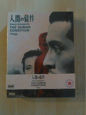 The Human Condition Trilogy Limited Blu-ray & DVD Arrow New Sealed OOP Rare