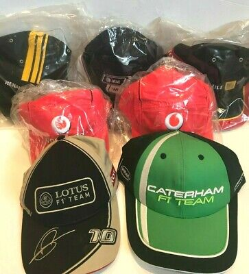 McLaren Renault Williams Caterham Mercedes Lotus Formula 1 F1 Racing Team Cap