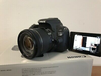 Canon EOS 200D 24,2 Mpx Digitale SLR CAMERA- ( + EF-S 18-55MM F/4-5.6 IS STM)