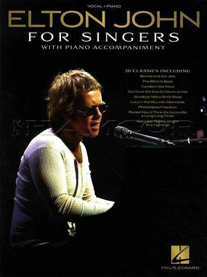 Elton John for Singers Vocal Piano Sheet Music Book Your Song SAME DAY DISPATCH