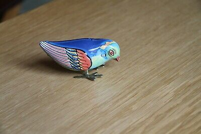 Vintage Tin Plate Wind Up Toy - Made in China MS 029, no key but works perfectly