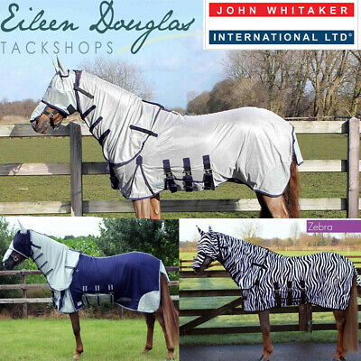 JOHN WHITAKER RW13 QUENTIN FLY RUG WITH NECK plus FLY MASK