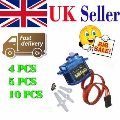 Lots SG90 Micro Servo Motor 9G RC Robot Arm Helicopter Airplane Remote Control