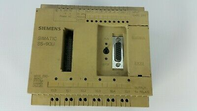 Siemens 6Es5 090-8Ma01 Simatic S5-90U Programmable Controller System / Module