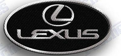 LEXUS  Embroidered Iron on patch PATCHES 100% eMBROIDERy CAR AUTO emblem suv