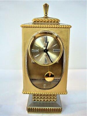 VINTAGE 8-DAY NOVELTY MANTLE CLOCK - restored