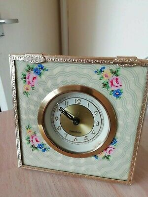 Vintage 1930's MERCEDES Art Deco MANTEL TRAVEL Clock