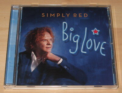Simply Red - Big Love (CD 2015). Ex Cond
