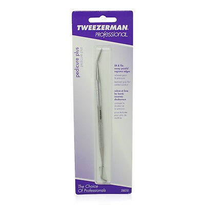 Tweezerman Pedicure Plus Stainless Steel Nail Cleaner And Ingrown Toenail File