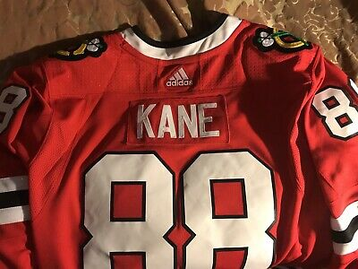 55380e5cd26 Authentic ON-ICE Chicago Blackhawks Patrick Kane Adidas Jersey NEW With  Tags.