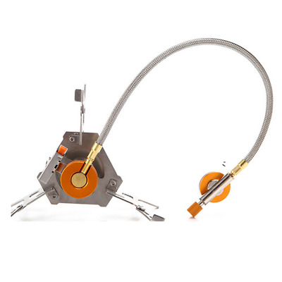3500W Outdoor Picnic-Gas Burner Portable Backpacking Camping Hiking Mini Stove