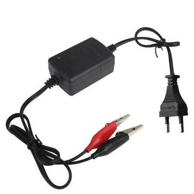 1PCS EU 12V Car Motorcycle ATV Smart Compact Battery Charger Tender Maintainer