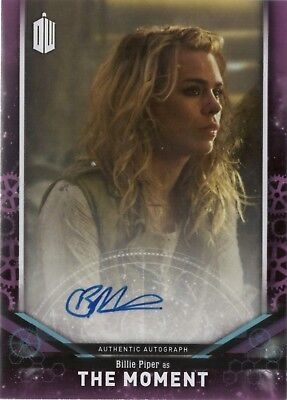 2018 Topps Doctor Who Signature Billie Piper as The Moment Auto Autograph