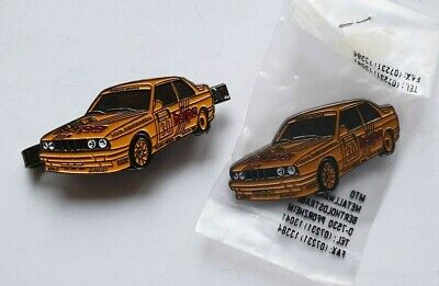 BMW M3 # 30 Ansteck- Nadel + Clip (2 x Metall) Herpa