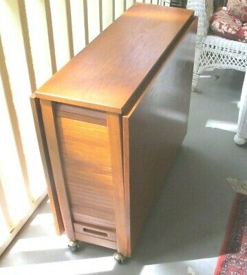 Sensational Mid Century Danish Style Romanian Drop Leaf Table With 3 Onthecornerstone Fun Painted Chair Ideas Images Onthecornerstoneorg