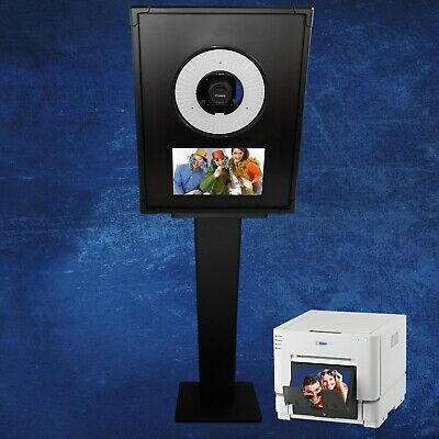 TURNKEY PHOTO BOOTH SHELL w/LED Flashring bundled with DNP DS-RX1HS printer!