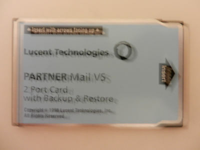 PARTNER Mail VS 2 Port Expansion Card With Backup And Restore