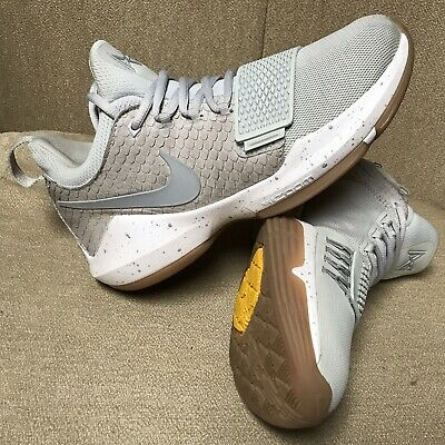 8d6cb1598ae Nike Paul George PG1 Basketball Shoes Pure Platinum Wolf Grey 878627 008  Size 9