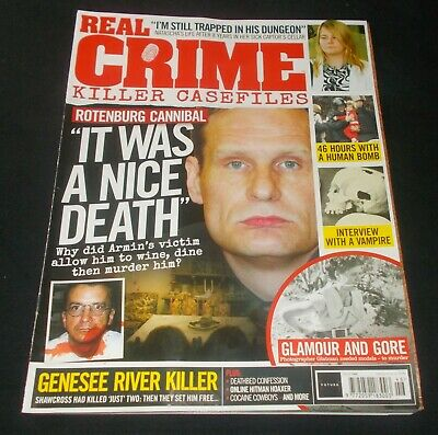 Real Crime Magazine Issue Number 46 (Rotenburg Cannibal)