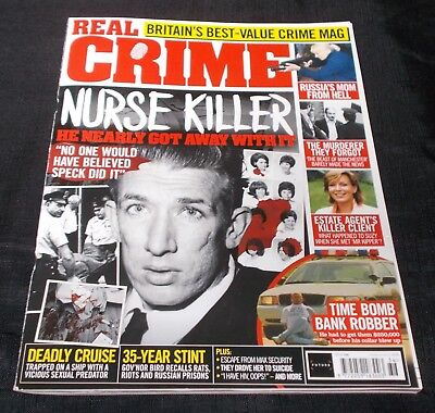 Real Crime Magazine (Issue 036) Richard Speck Front Cover