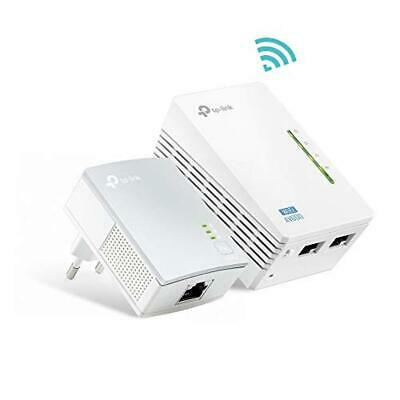 (TG. AV600 + 300 Mbps WiFi) TP-Link TL-WPA4220 Kit Powerline WiFi, AV600 Mbps su