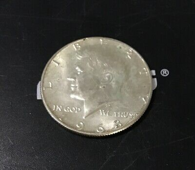 1968 D Kennedy Half Dollar As Pictured 40% Silver Free Shipping