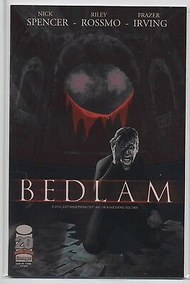 BEDLAM #1-6 Nick Spencer Image Horror COMPLETE VF/NM/NM- (9.0/9.2) SET