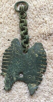 Ancient Viking Pendent with Chain.