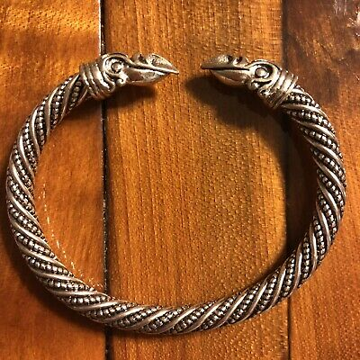 * Ancient European Viking Replica Bracelet Modern Rendition Museum Antique Style