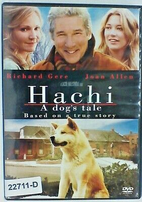 DVD Movie HACHI A DOG'S TALE  TRUE STORY  Richard Gere in Original Jacket FS 07