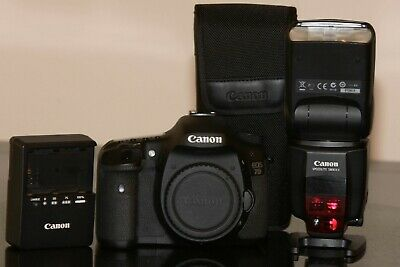 Canon EOS 7D 18.0MP DSLR (Kit w/18-55 IS STM, 70-300 IS USM, 580 EXii and more.