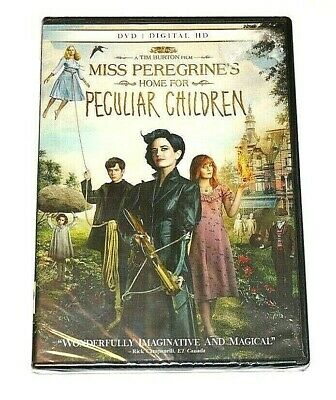 Miss Peregrines Home For Peculiar Children Widescreen DVD + Digital HD  NEW