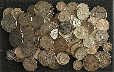 1/2 Ounce Lot-U CHOOSE TYPE COINS90% U.S.Silver coin 1964/older NO SCULLS 1/2Oz*
