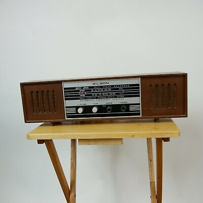 Vintage Wilson TR-109 Solid State AM FM Radio Phono Receiver